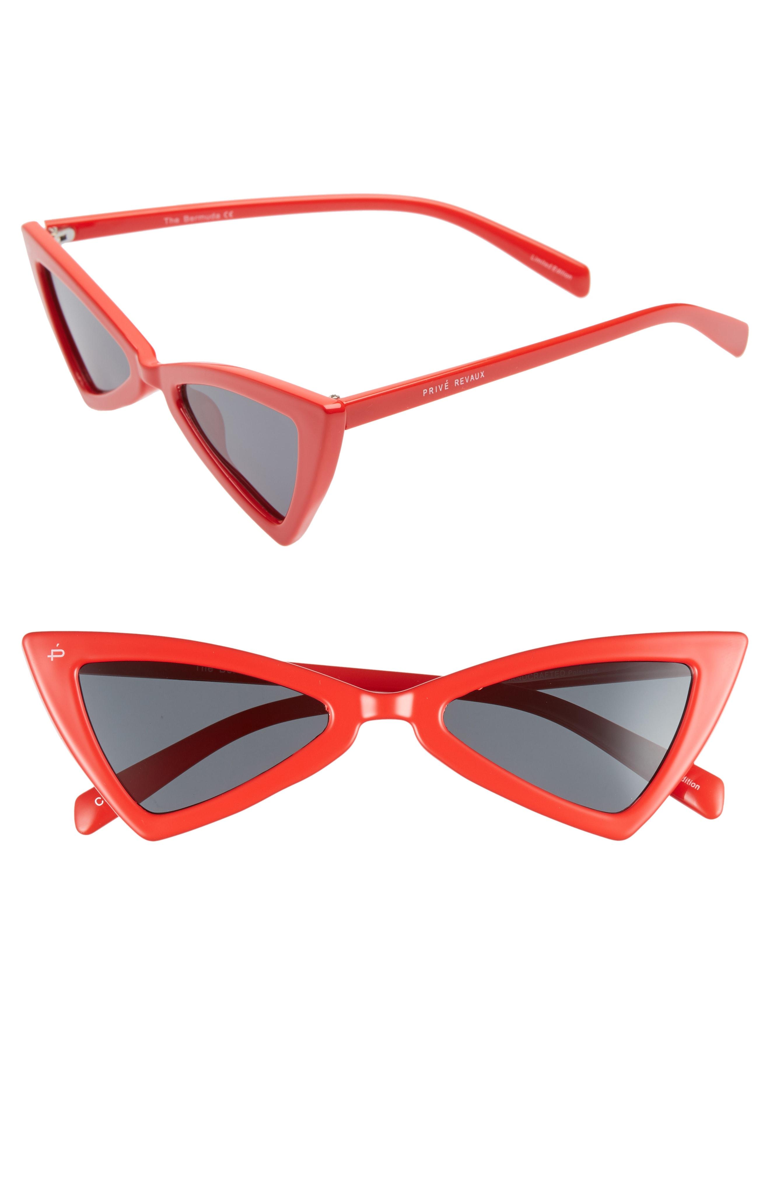 Priv Revaux The Bermuda 50mm Cat Eye Sunglasses