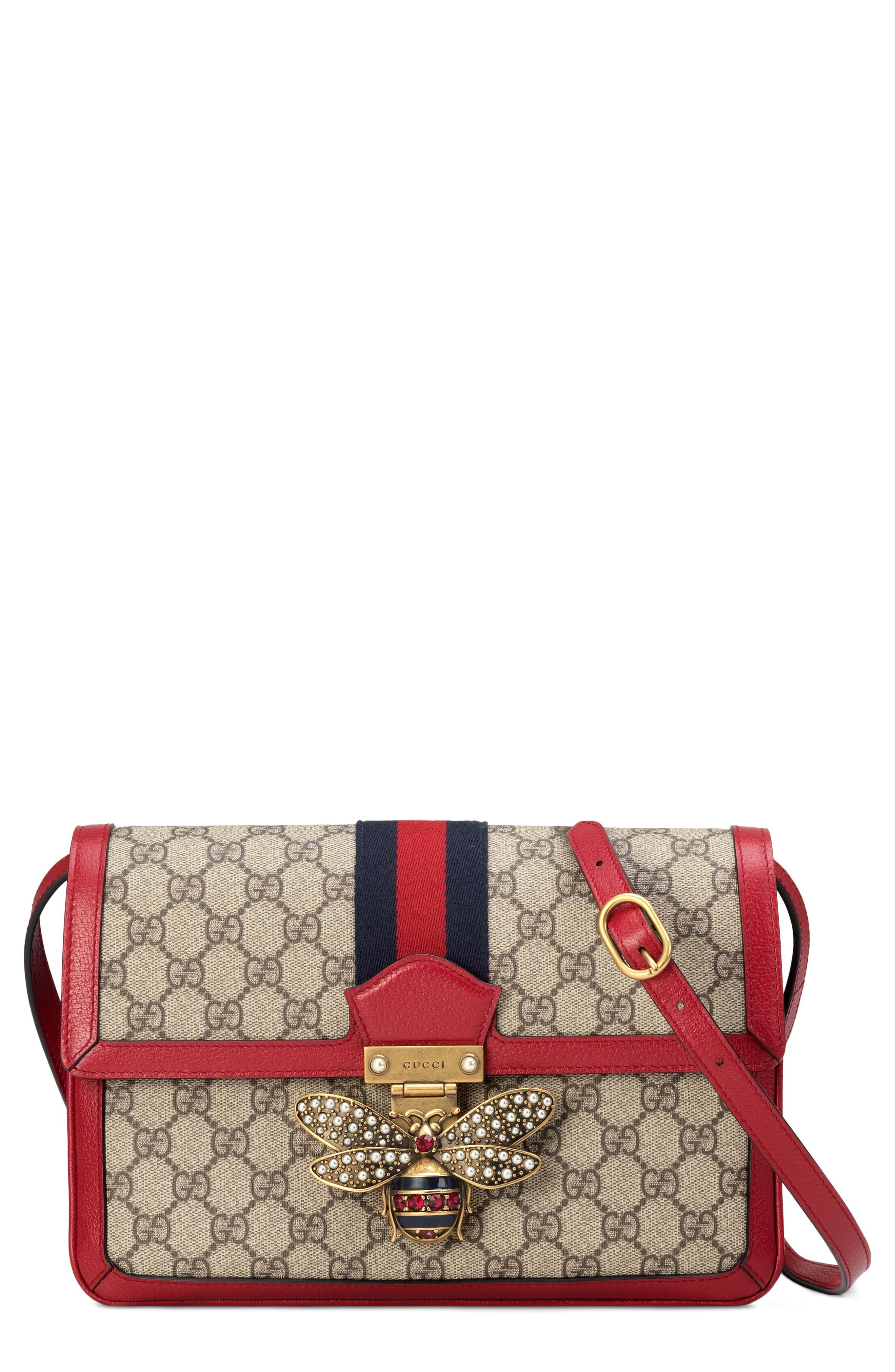Gucci Queen Margaret GG Supreme Small Crossbody Bag