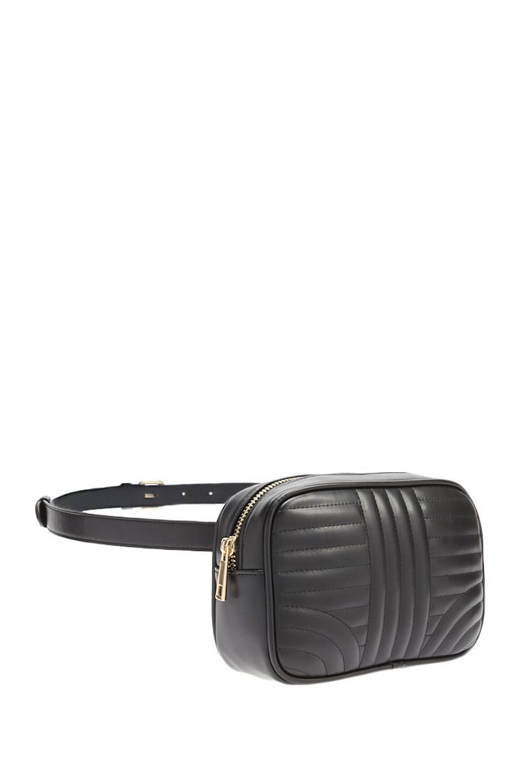 F21 Quilted Belt Bag