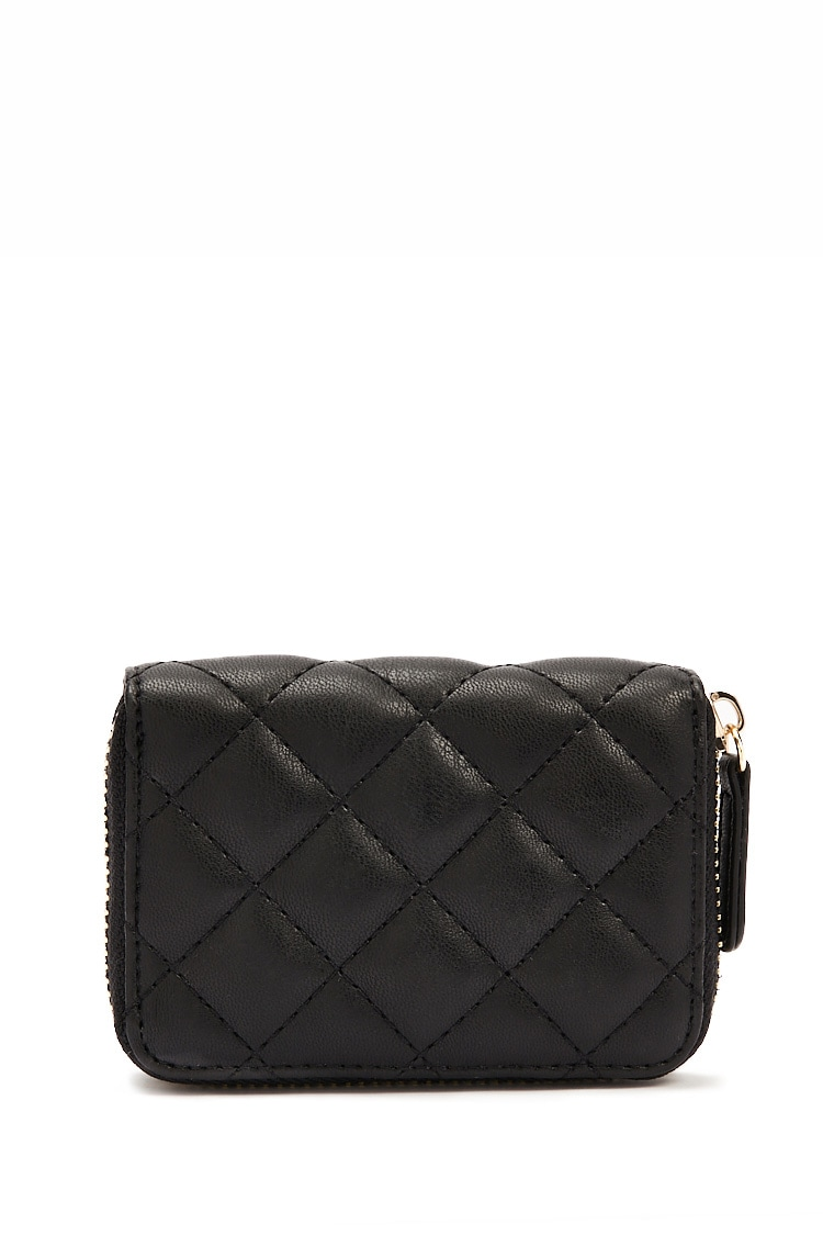 F21 Quilted Coin Purse