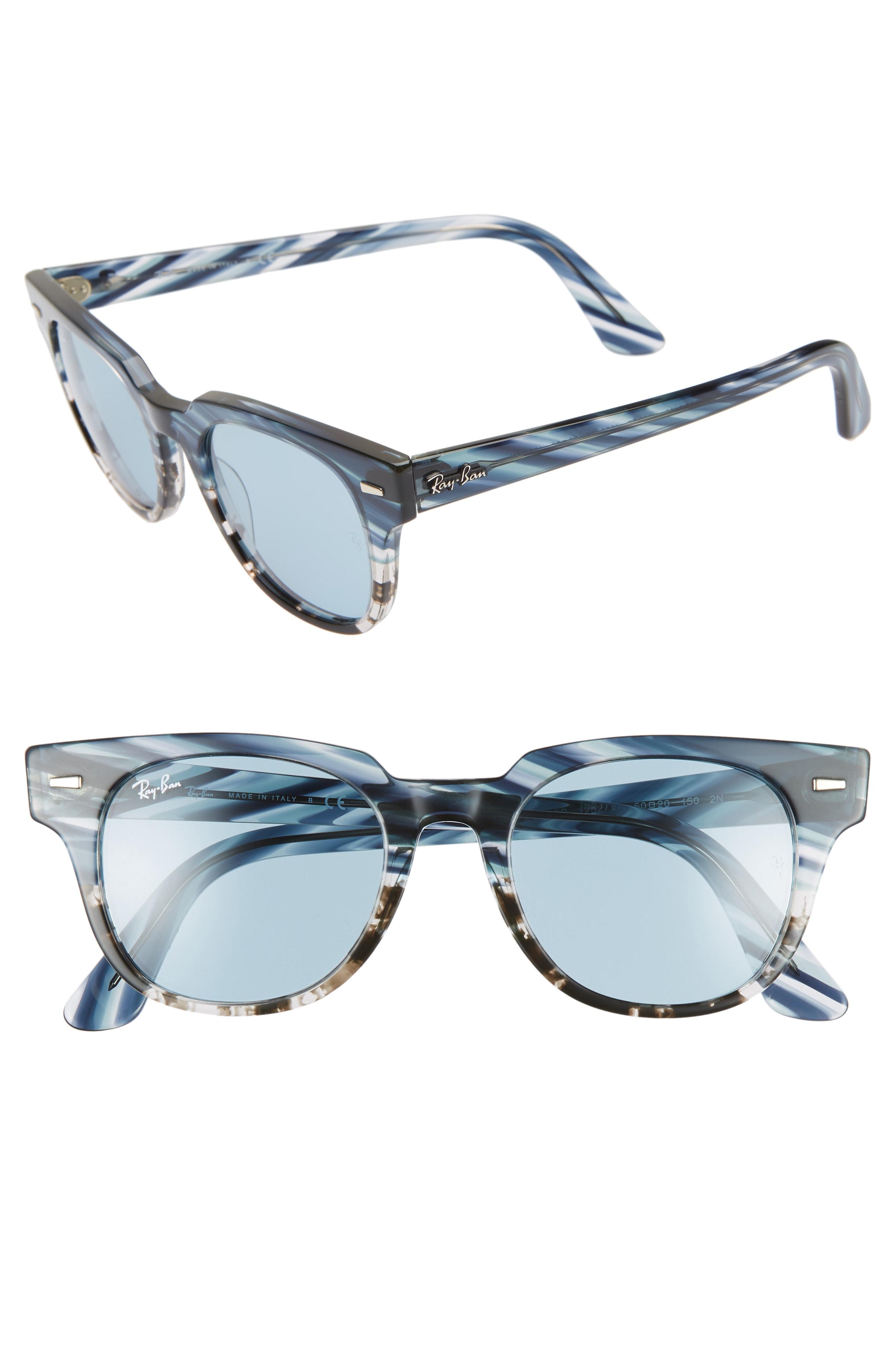 Ray-Ban Meteor 50mm Wayfarer Sunglasses