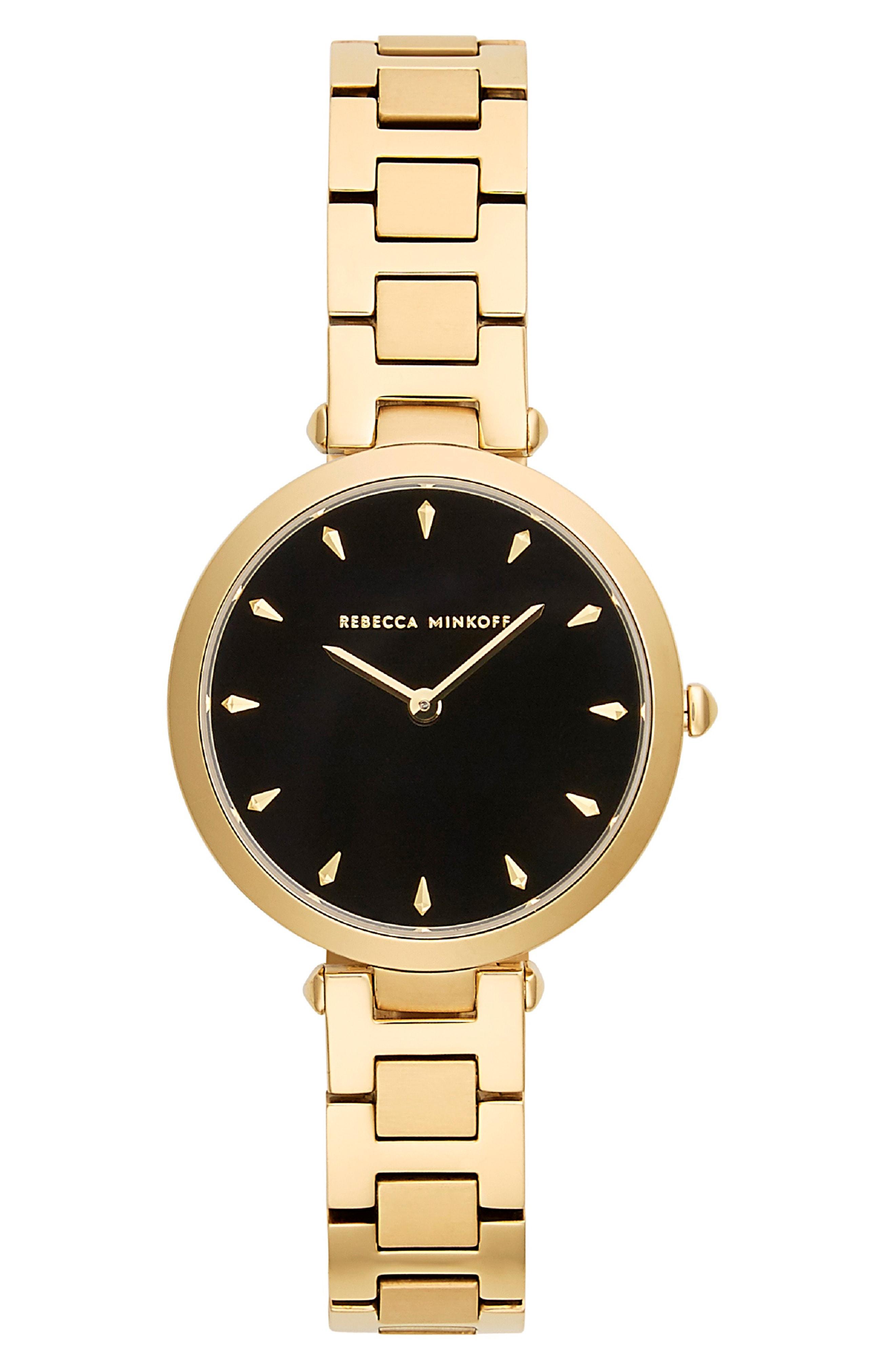 Rebecca Minkoff T-Bar Bracelet Strap Watch, 33mm