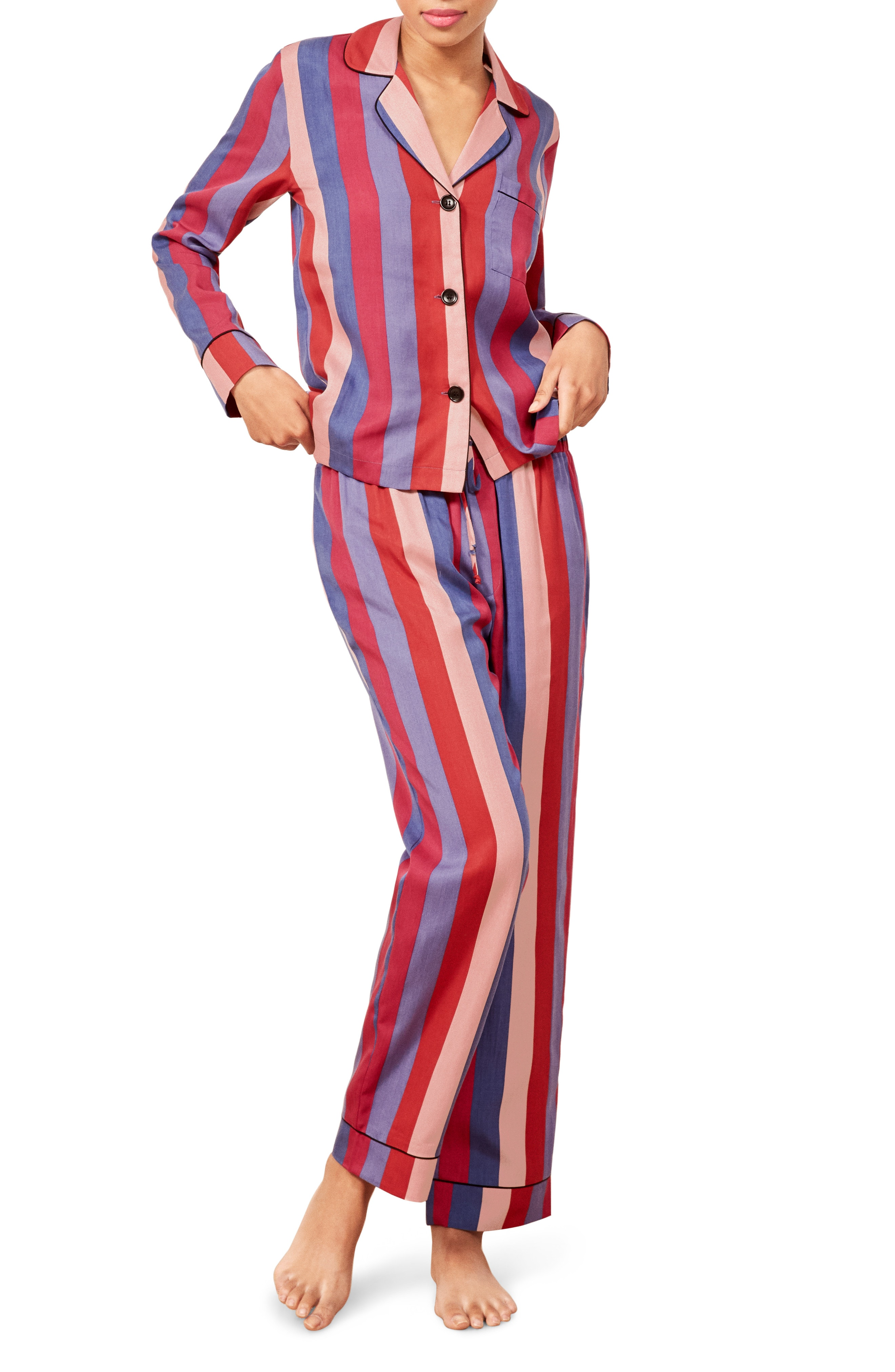 Reformation Stripe Pajamas