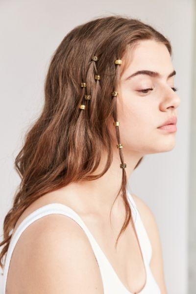 Regal Rose Engraved Hair Charm Set
