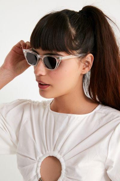 Retro Geo Cat-Eye Sunglasses
