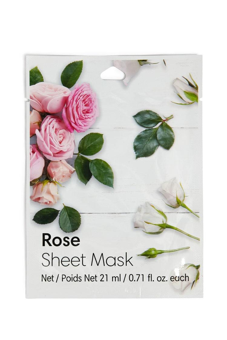 F21 Rose Sheet Mask