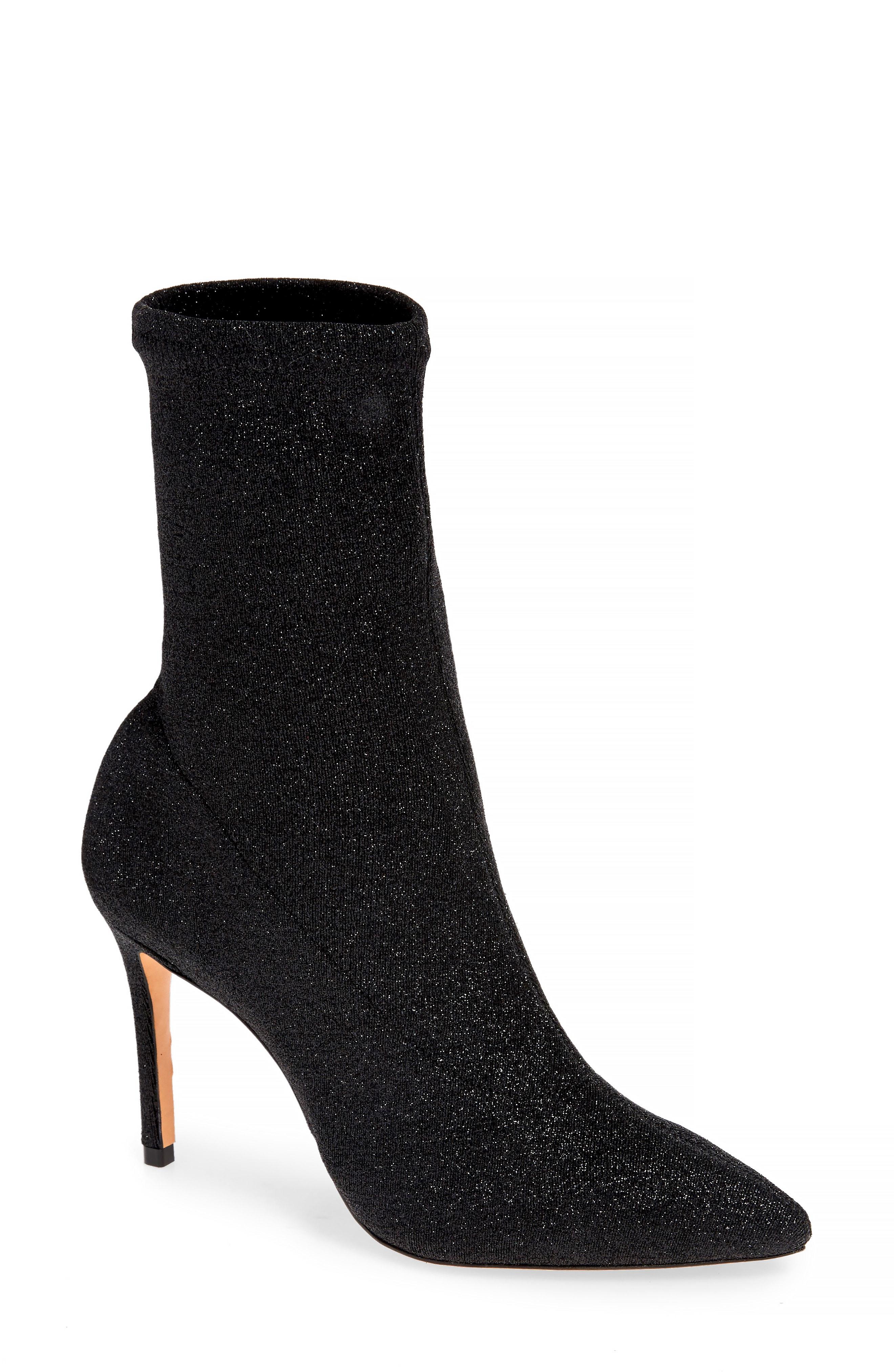 Schutz Sciarpe Glitter Sock Bootie (Women)
