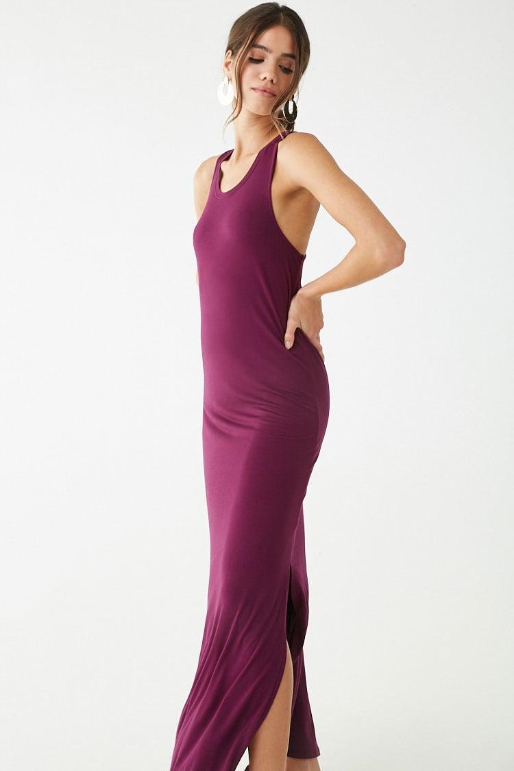 F21 Scoop Neck Maxi Dress