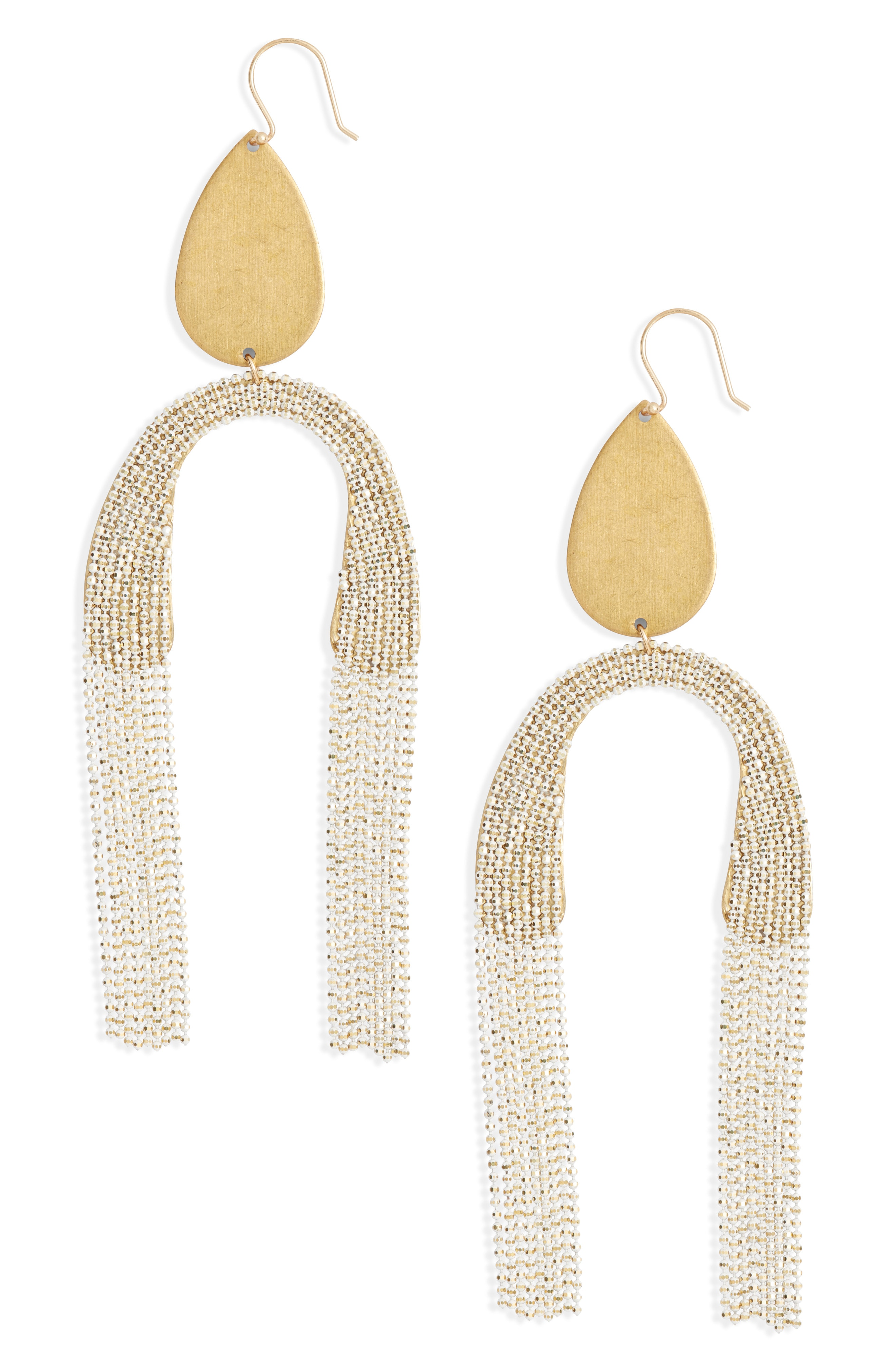 Serefina Fringe Drop Earrings
