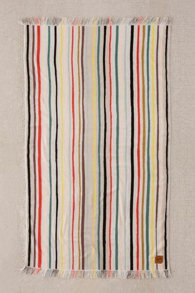 Slowtide Zephyr Stripe Oversized Beach Towel