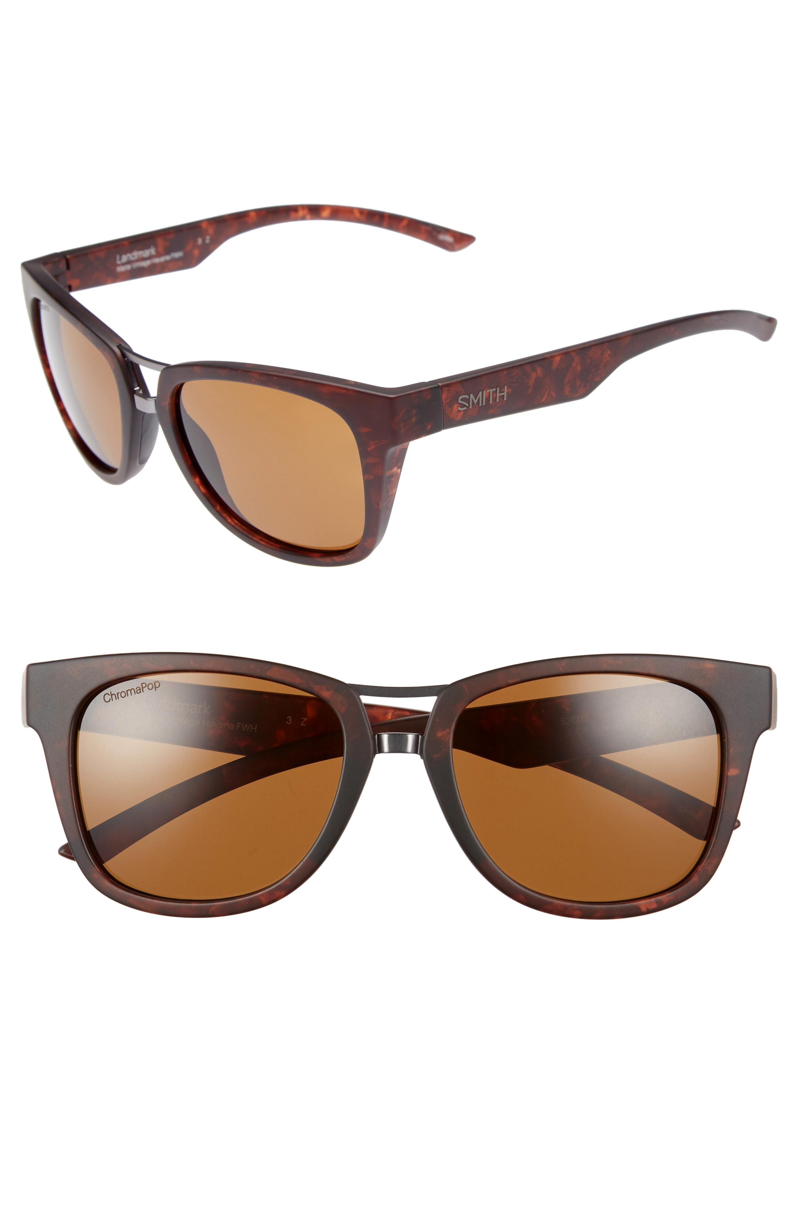 Smith Landmark 53mm ChromaPop Polarized Sunglasses