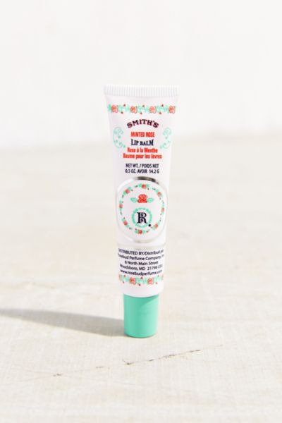 Smith's Minted Rose Lip Balm Tube