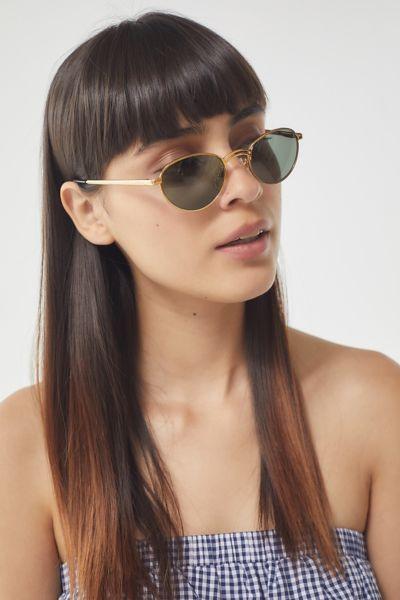 Solar Specs Vintage Galaxy Round Metal Sunglasses