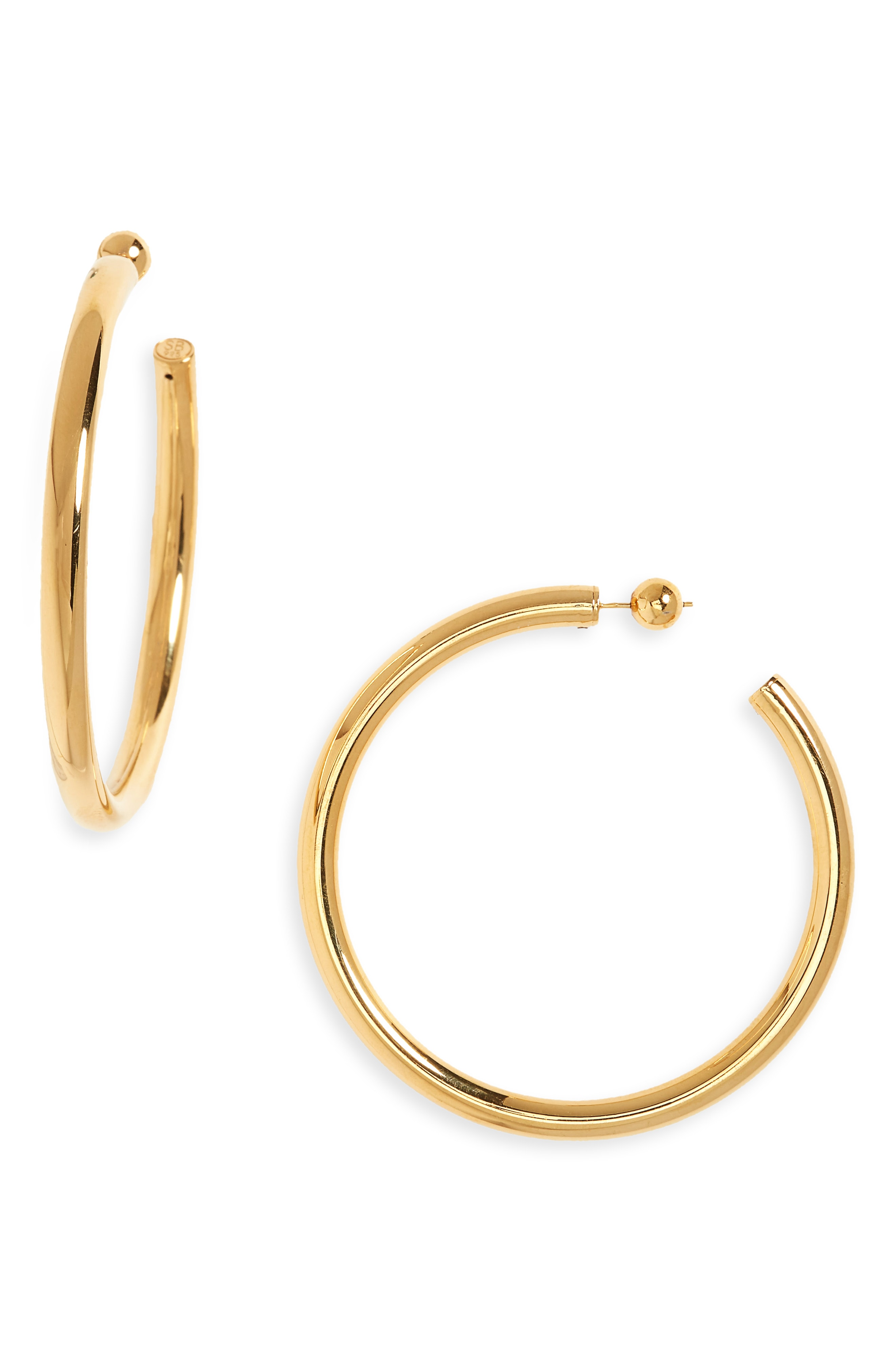 Sophie Buhai Large Everyday Vermeil Hoop Earrings