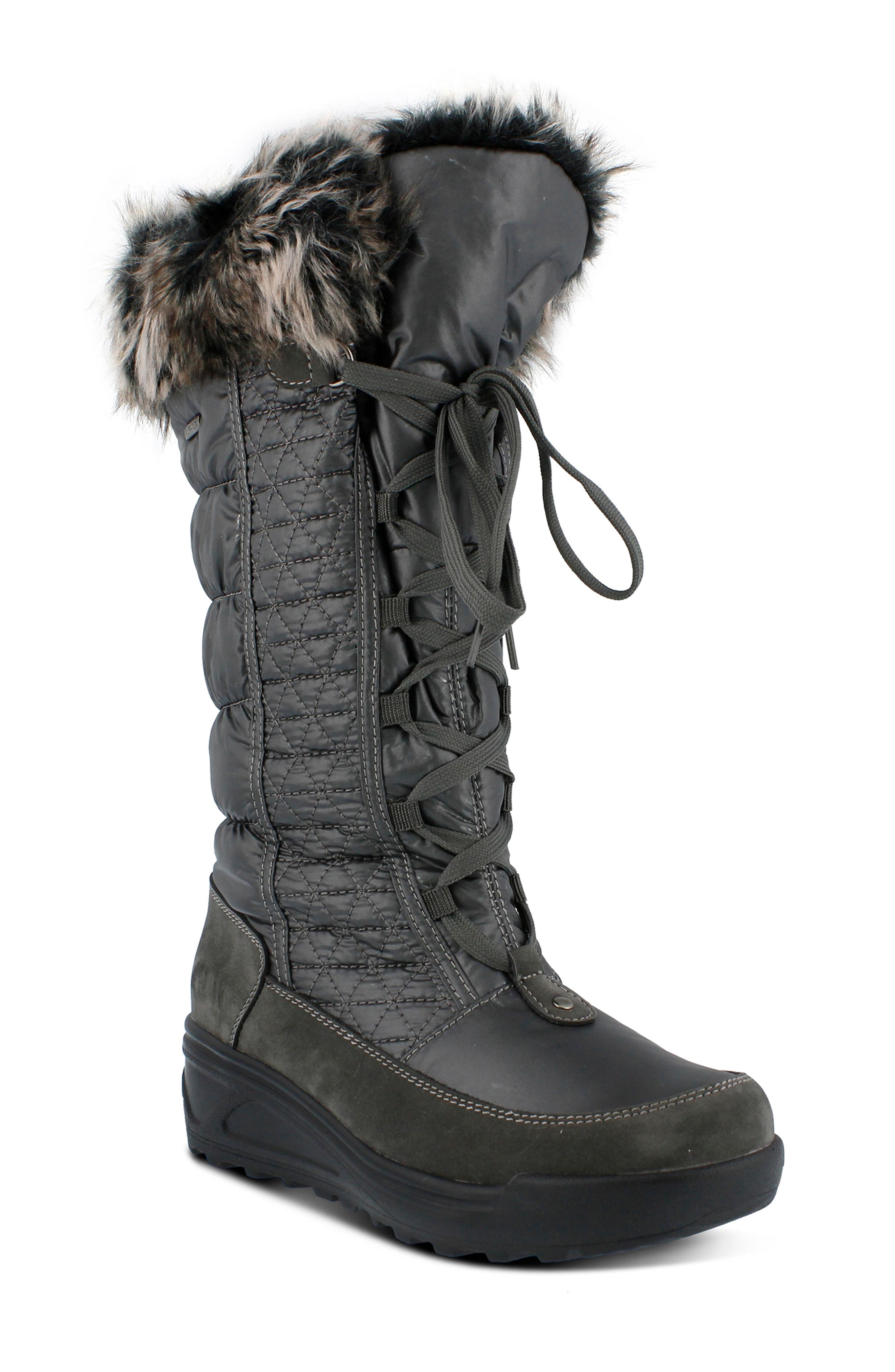Spring Step Fotios Waterproof Faux Fur Boot (Women)