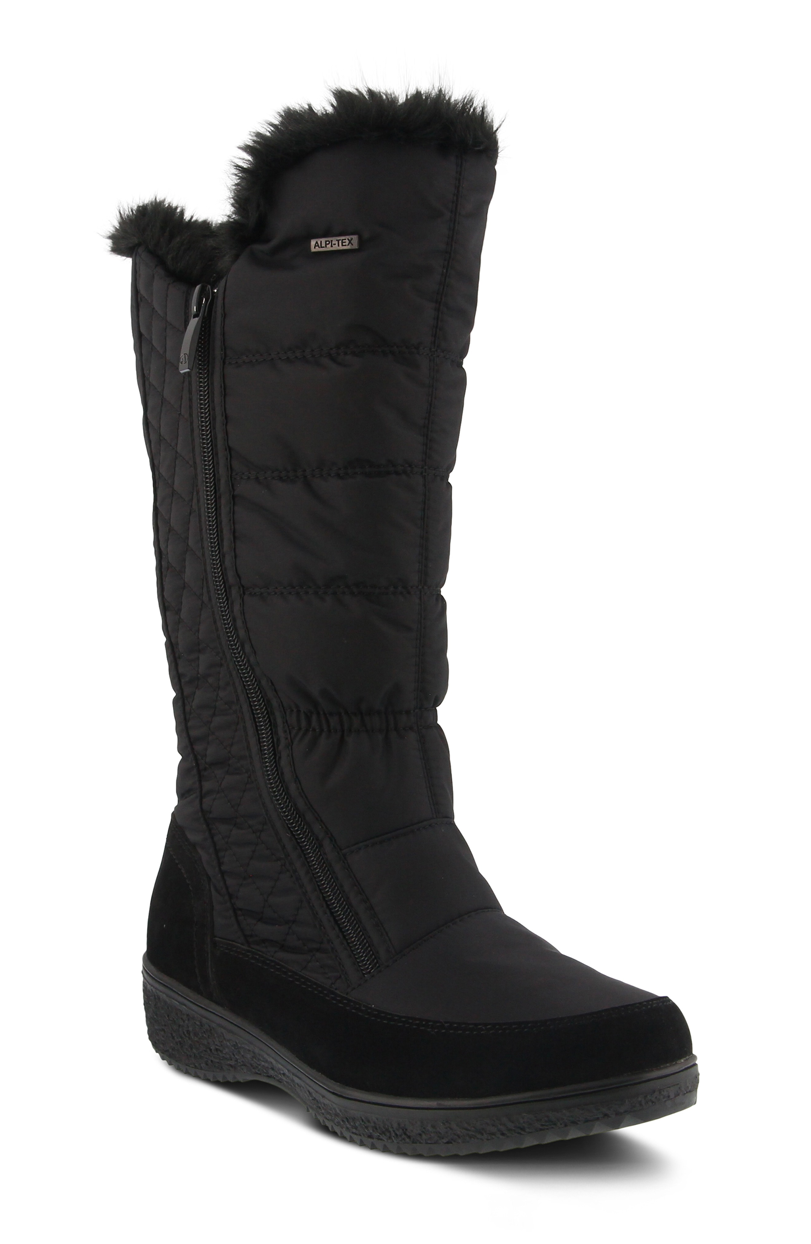 Spring Step Mireya Waterproof Faux Fur Lined Boot (Women)