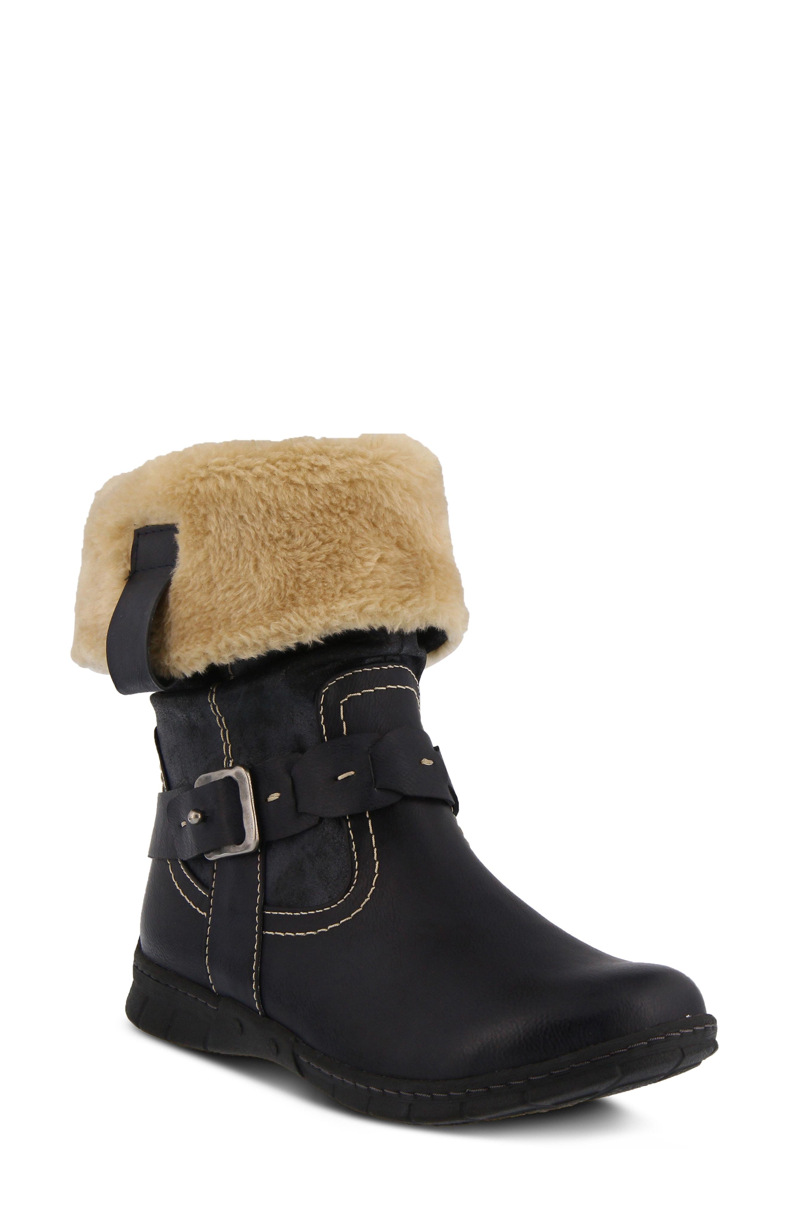 Spring Step Peeta Water Resistant Faux Fur Boot (Women)
