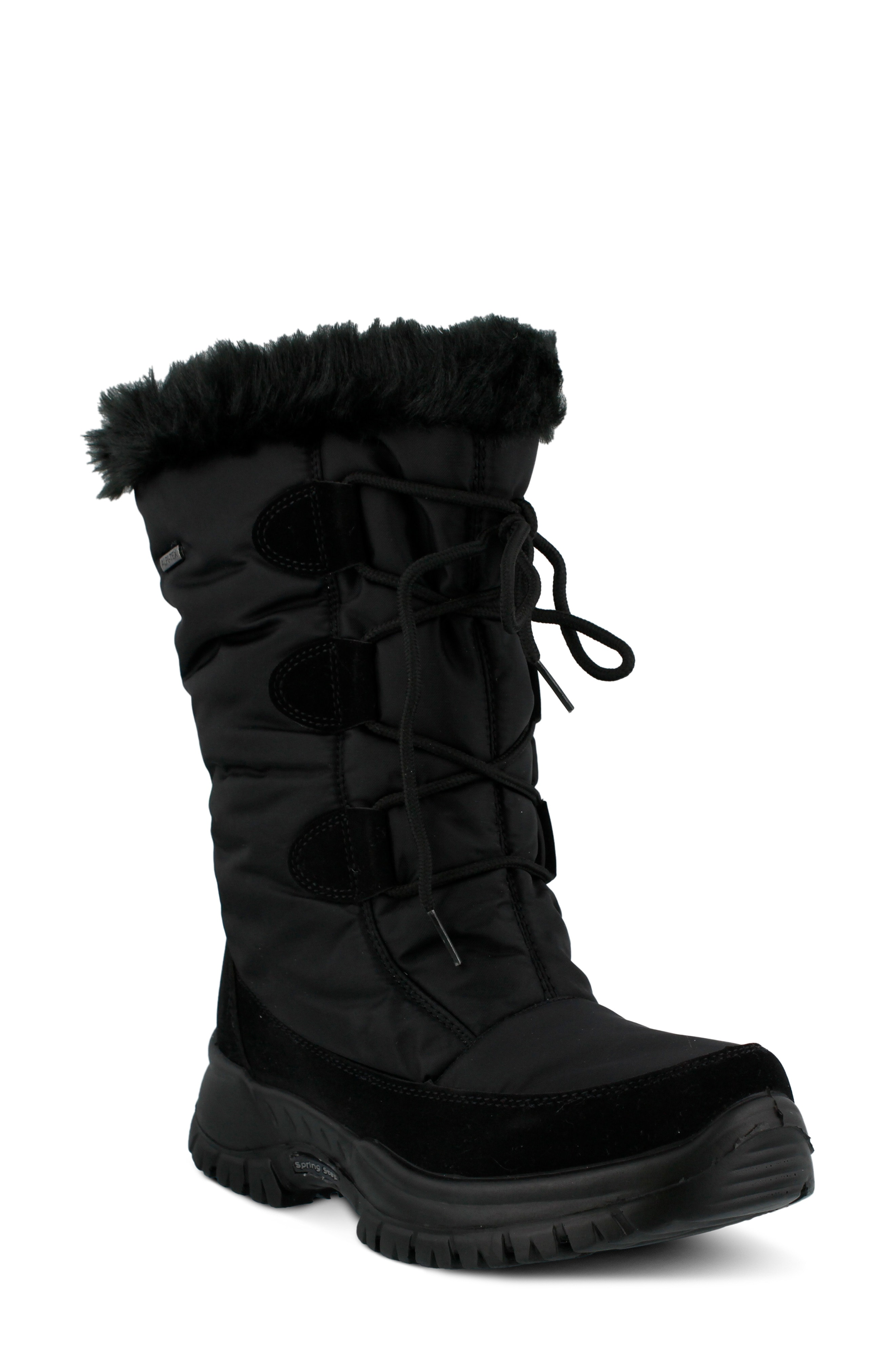 Spring Step Zurich Waterproof Faux Fur Boot (Women)