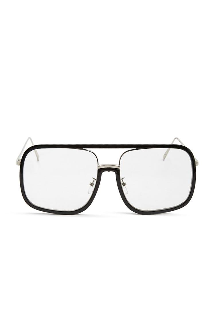 F21 Square Layered-Frame Sunglasses