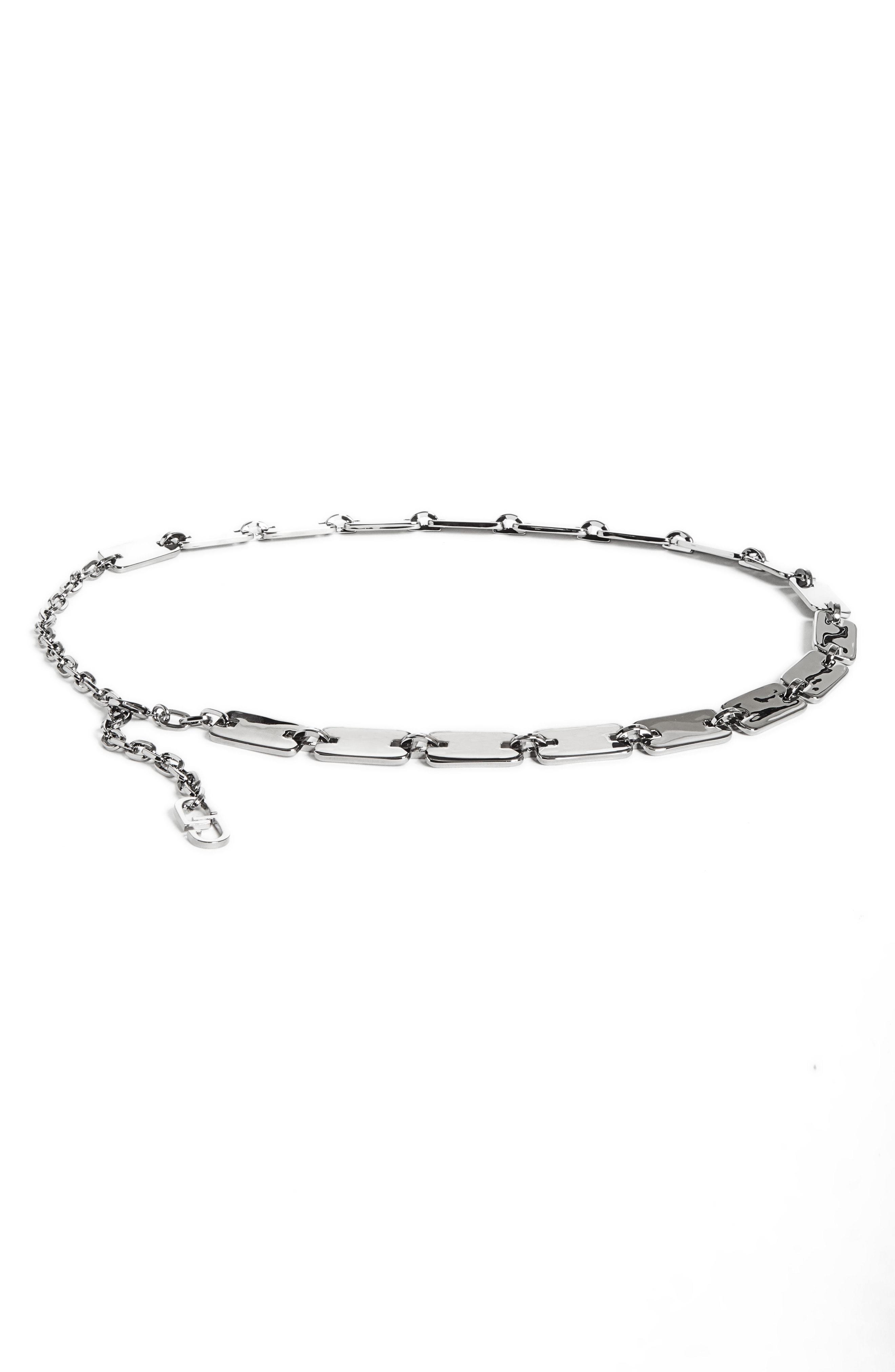 St. John Collection Chain Belt