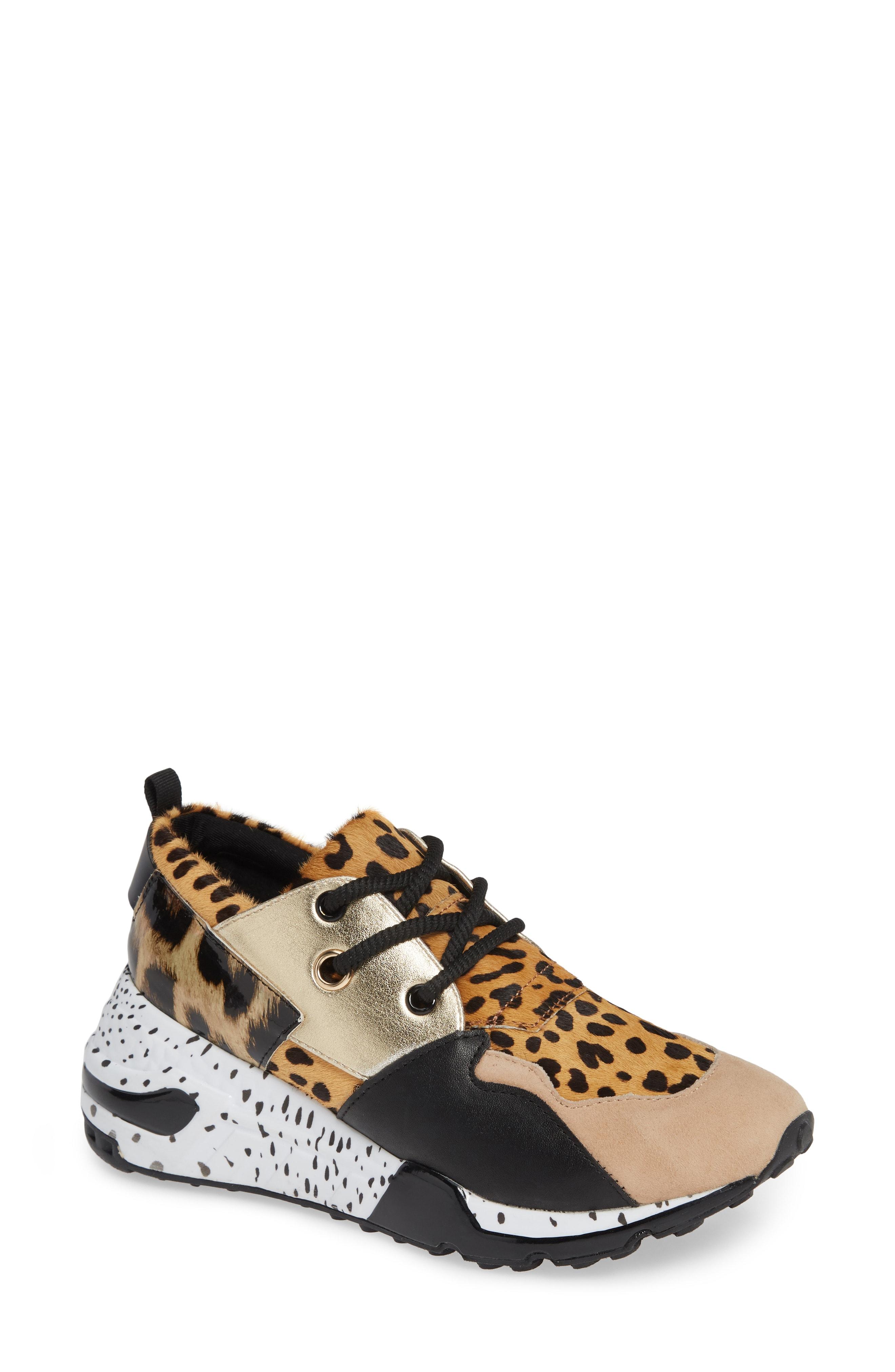 Steve Madden Cliff Genuine Calf Hair Sneaker (Women)