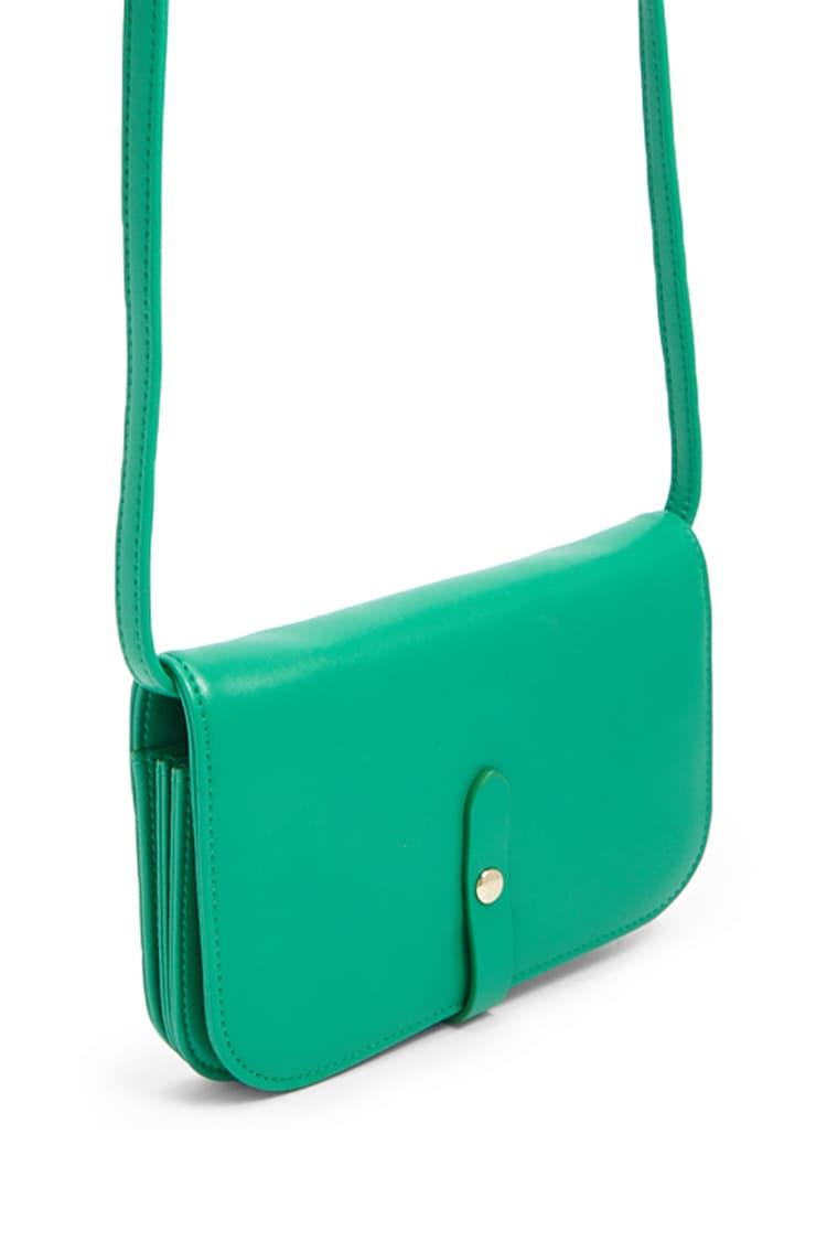 F21 Structured Crossbody Bag