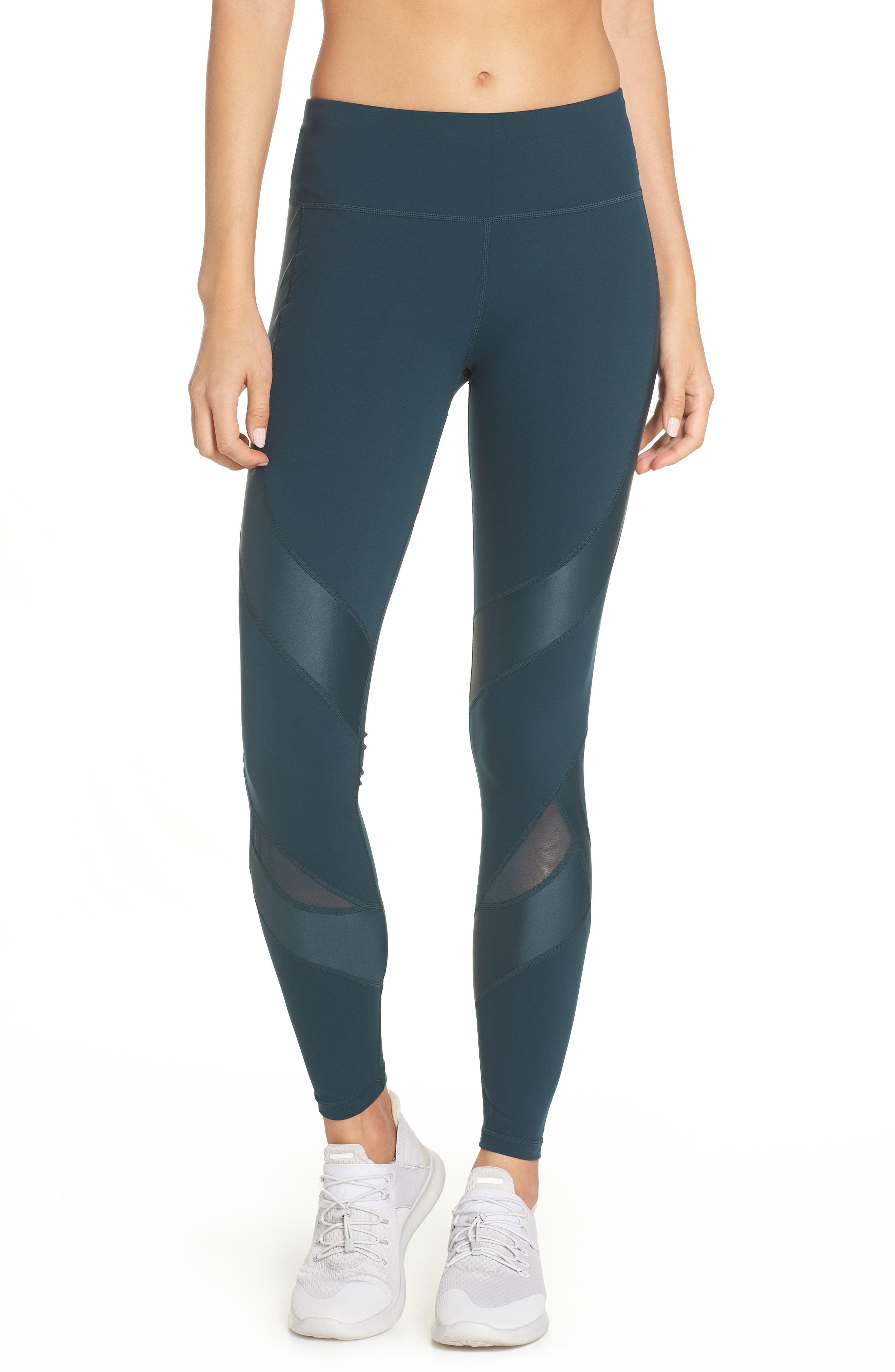 Sweaty Betty Power Wetlook Mesh Workout Leggings