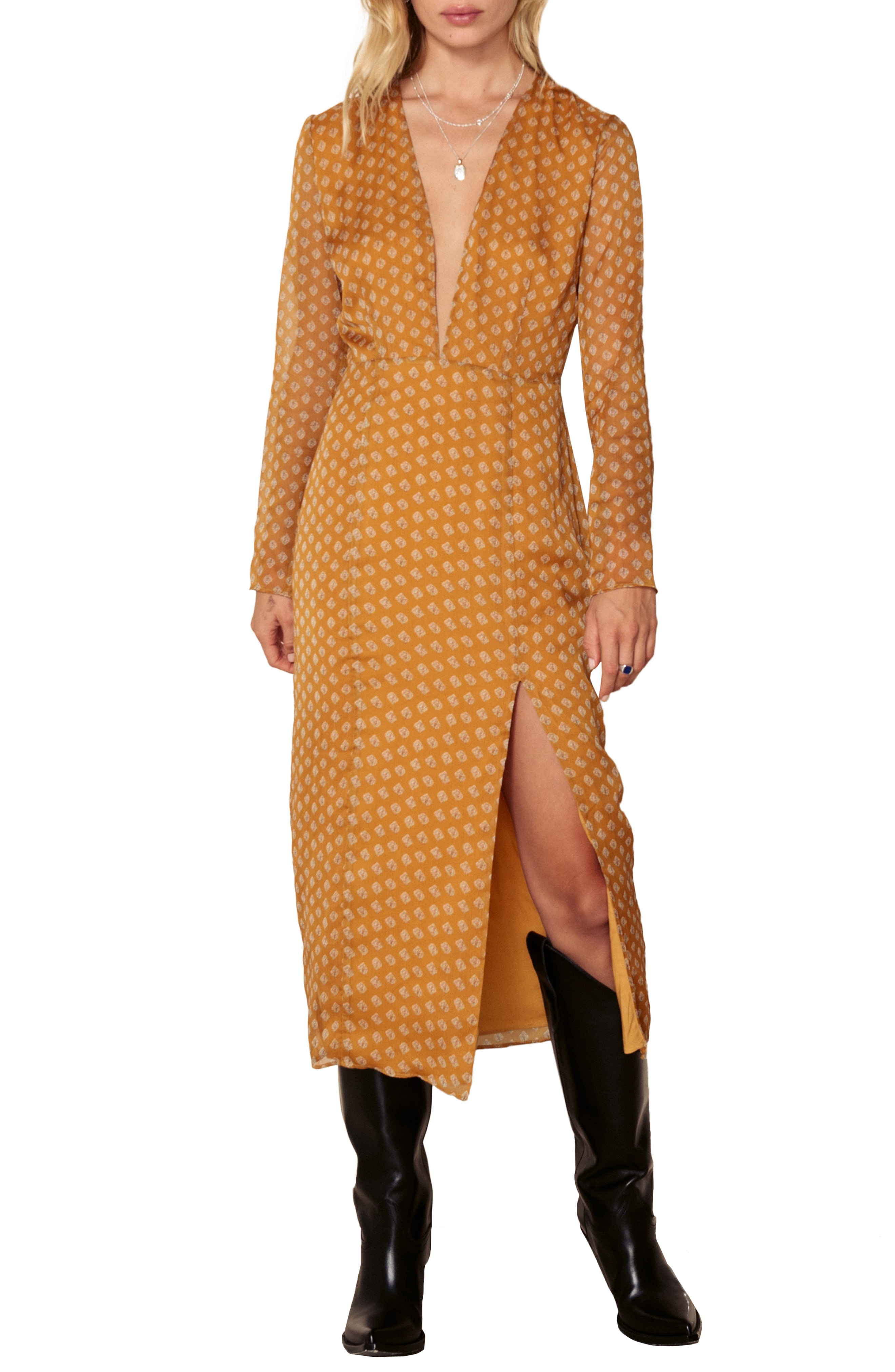 The East Order Blaire Midi Dress