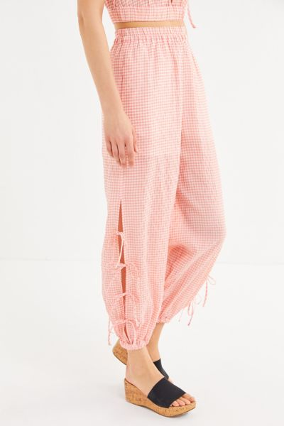 The East Order Luca Slit Side-Tie Balloon Pant