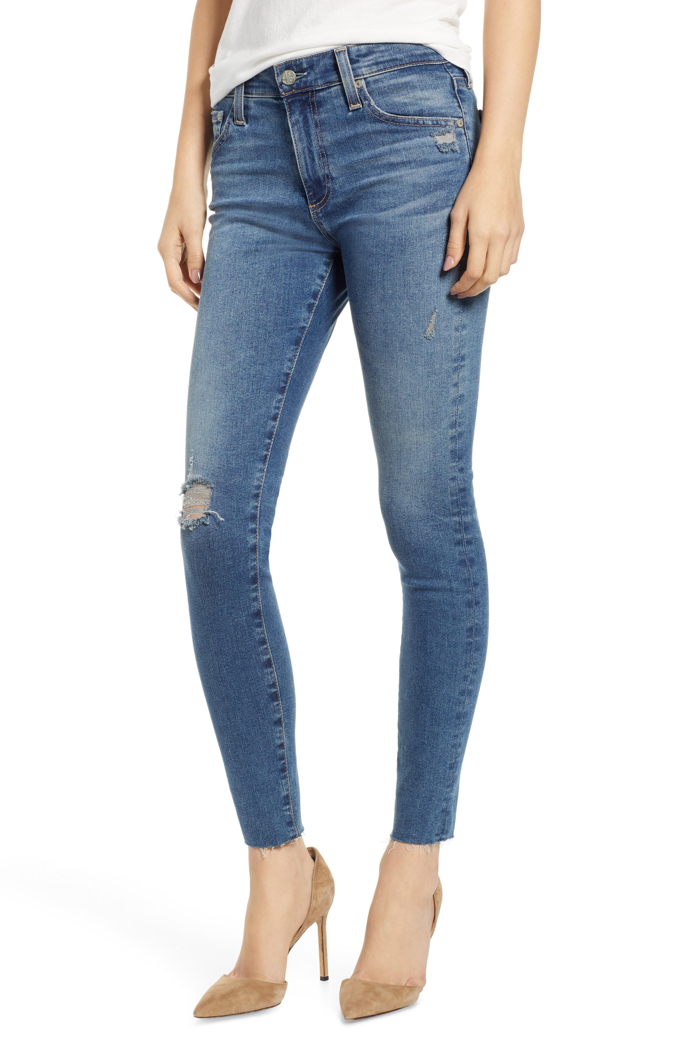 AG The Farrah High Waist Ankle Skinny Jeans (18 Years Cruising)