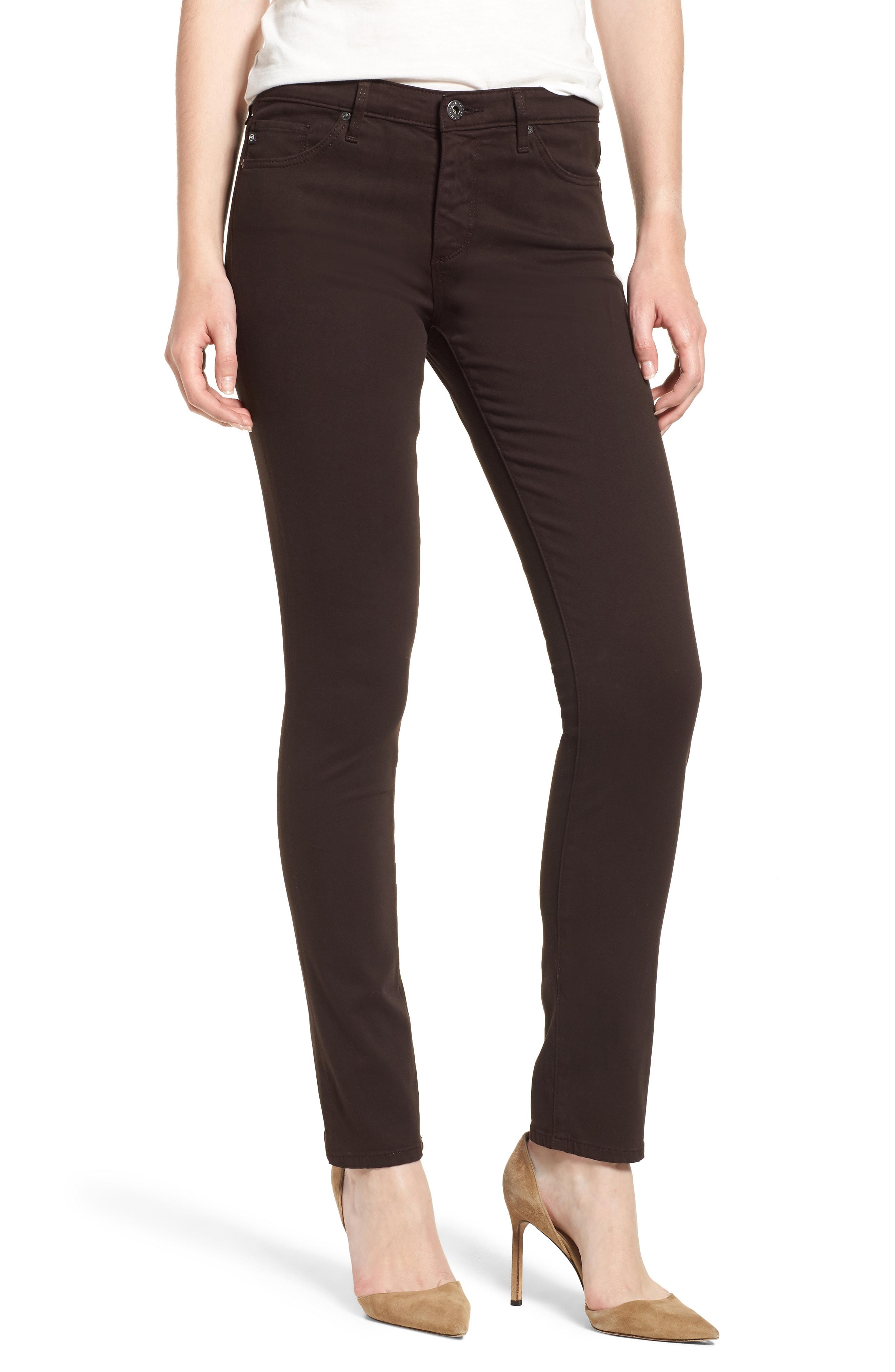 AG 'The Prima' Cigarette Leg Skinny Jeans