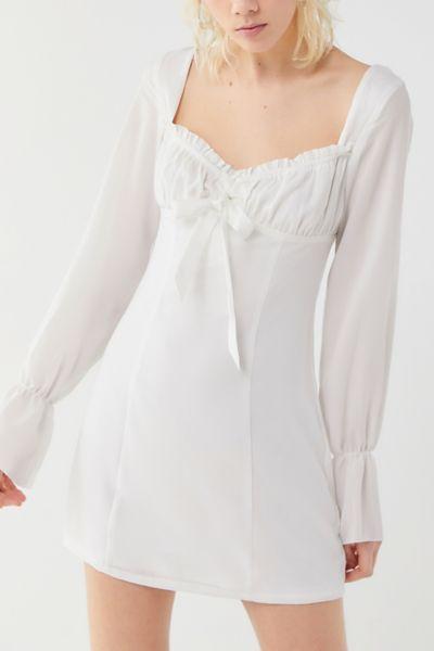 Tiger Mist Orchard Empire Waist Mini Dress