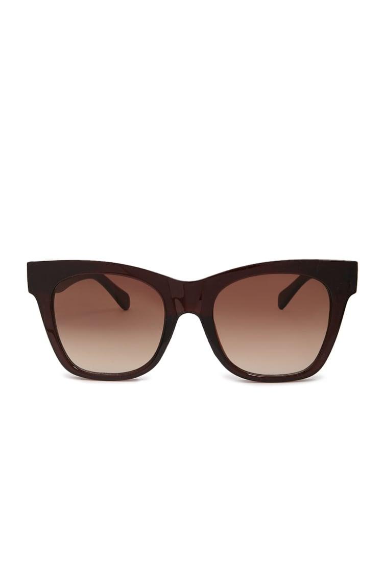 F21 Tinted Square Sunglasses