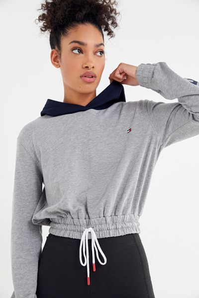 Tommy Hilfiger UO Exclusive Colorblock Hoodie Sweatshirt