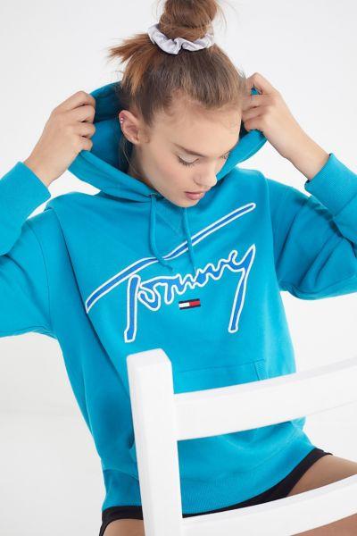 Tommy Jeans Signature Hoodie Sweatshirt