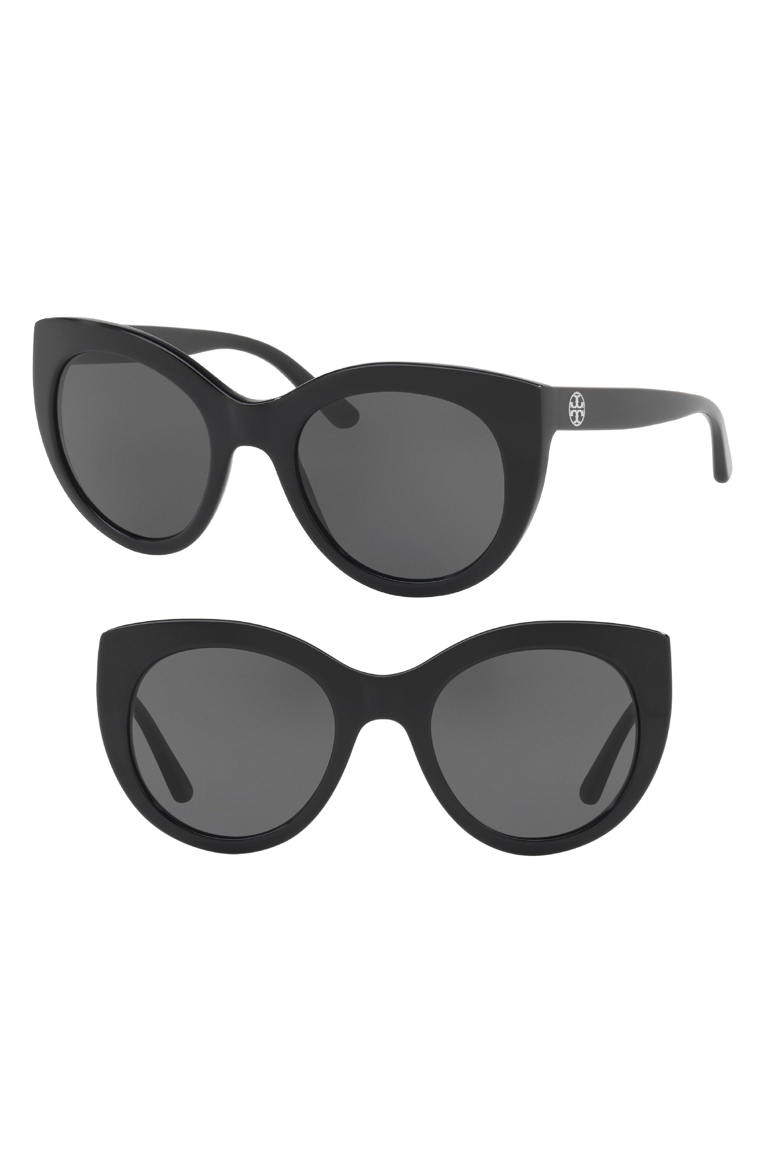 Tory Burch 51mm Cat Eye Sunglasses