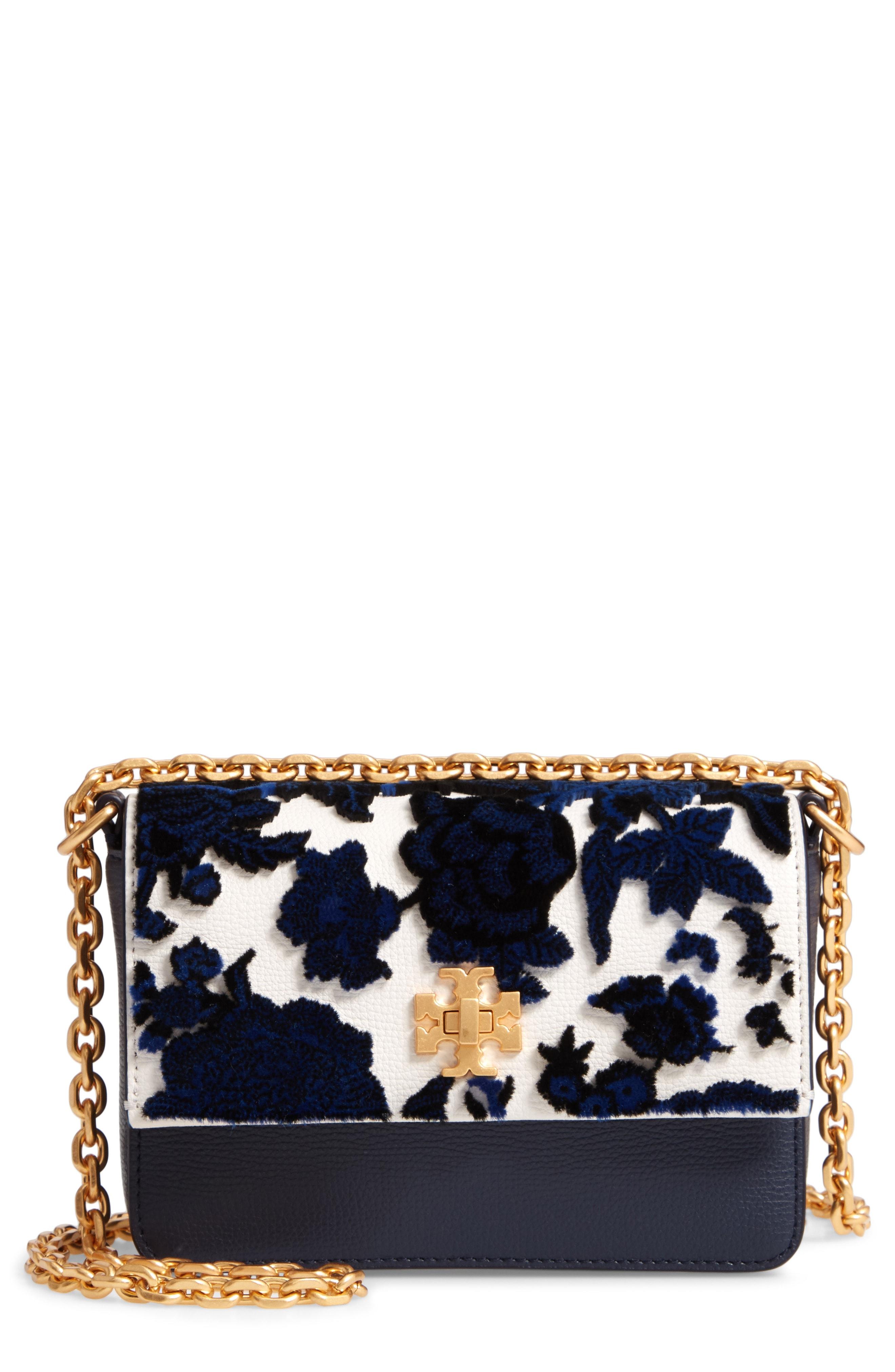 Tory Burch Mini Kira Leather & Fil Coup Bag