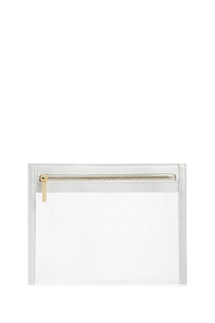 F21 Transparent Zippered Pouch