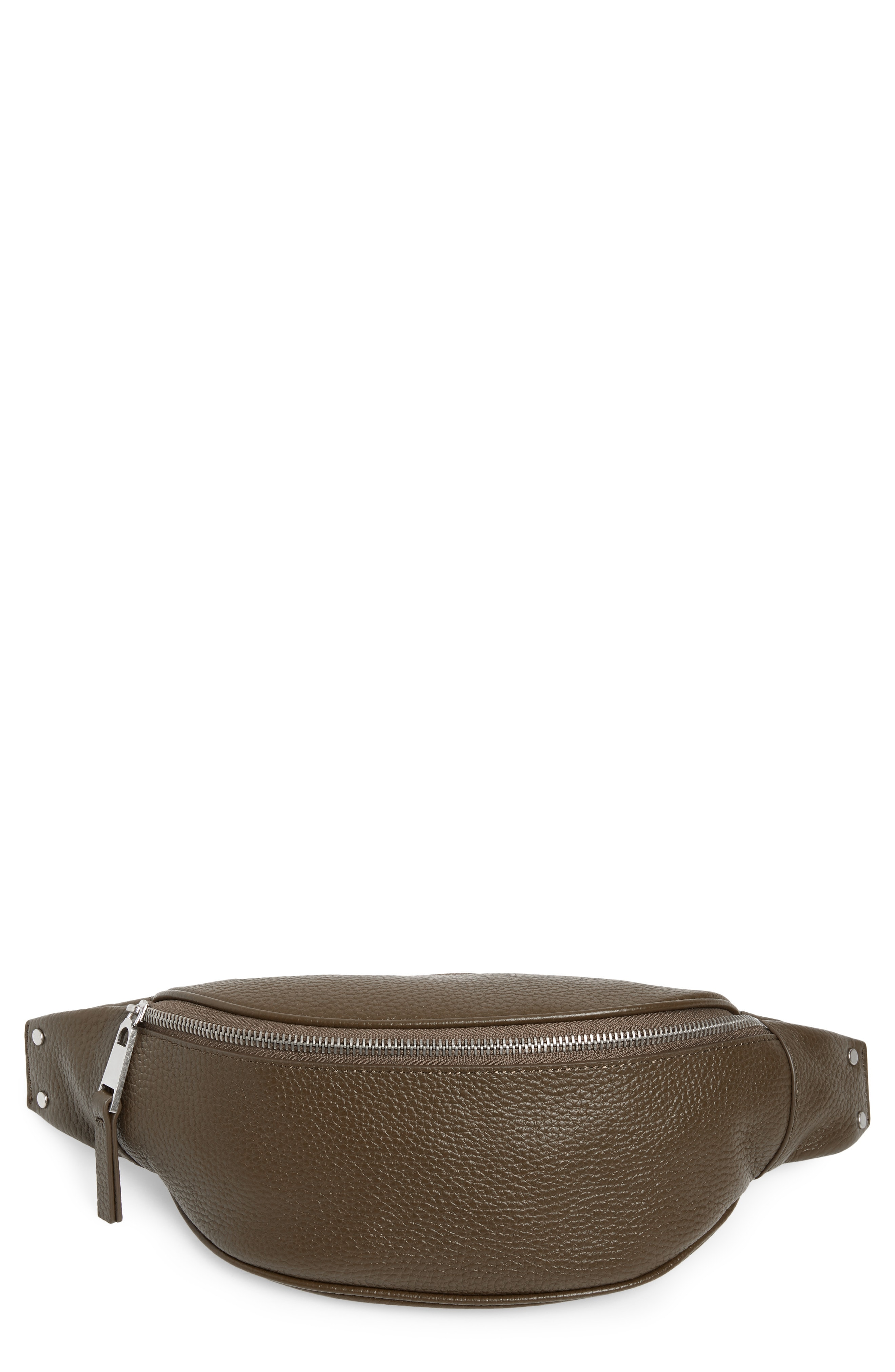 Treasure & Bond Mason Pebbled Leather Belt Bag