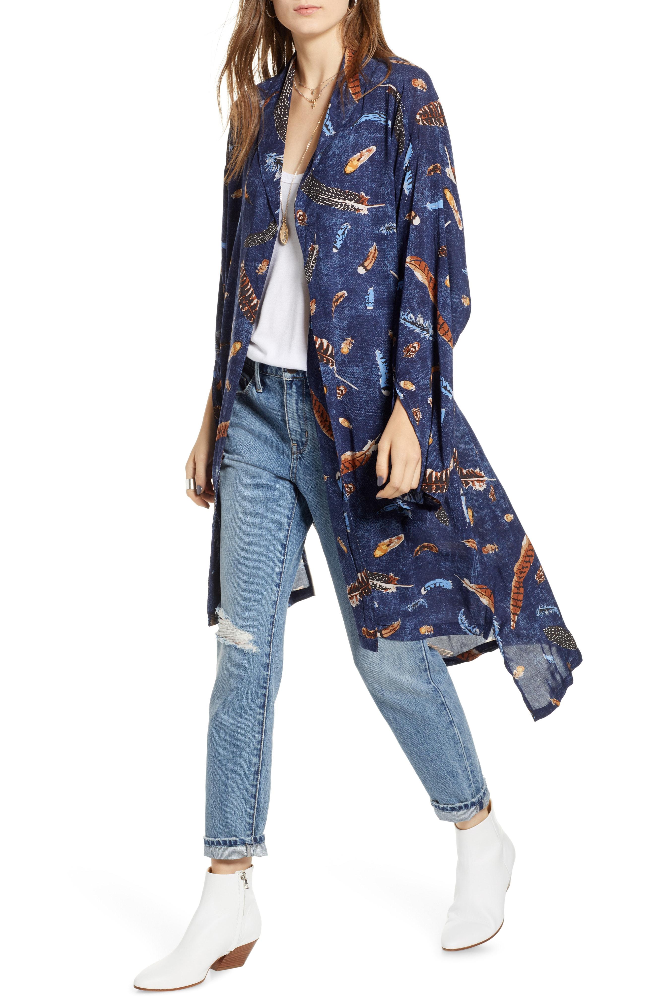 Treasure & Bond Print Kimono