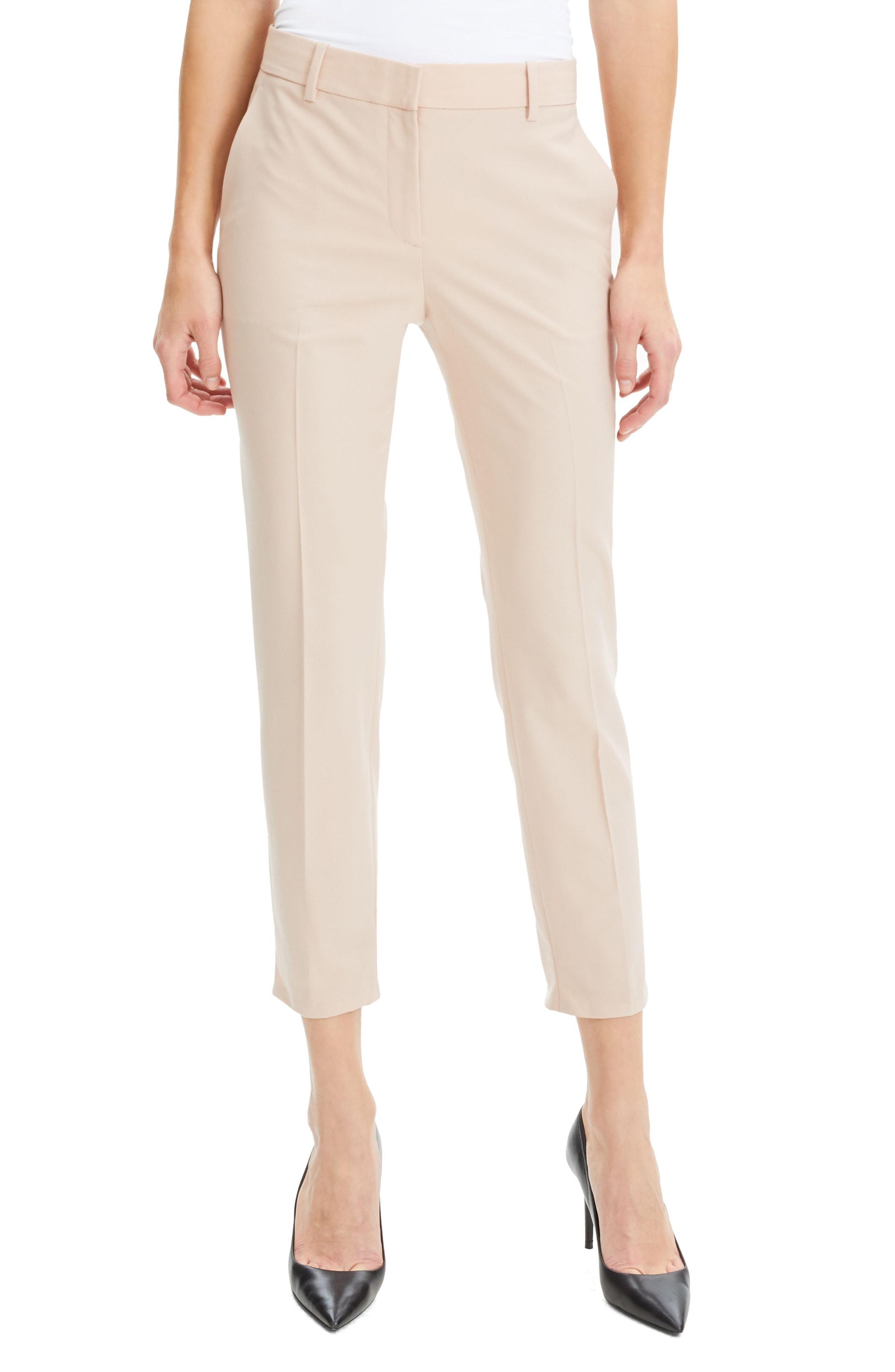 Theory Treeca 2 Good Wool Crop Suit Pants (Nordstrom Exclusive)