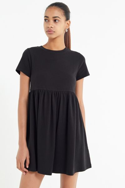 UO Alexa Babydoll T-Shirt Dress