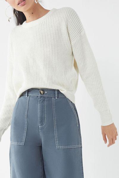 UO Andi Pullover Crew-Neck Sweater