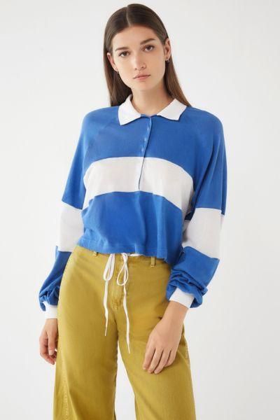 UO Carson Long Sleeve Polo Shirt