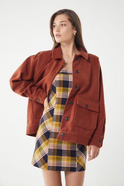 UO Chelsea Wool Shirt Jacket