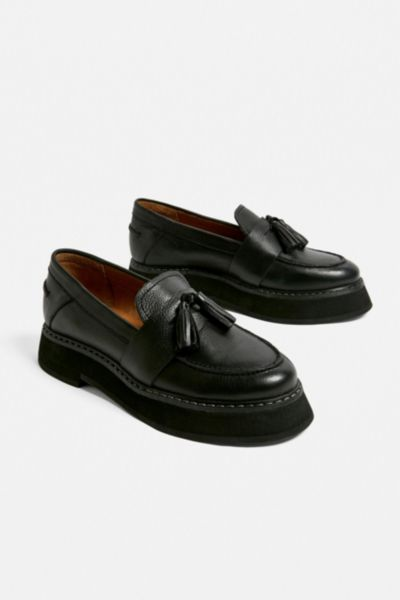 UO City Leather Loafer