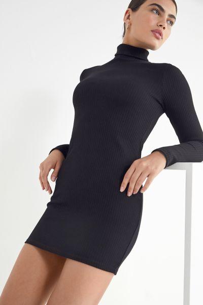 UO Gigi Turtleneck Mini Dress