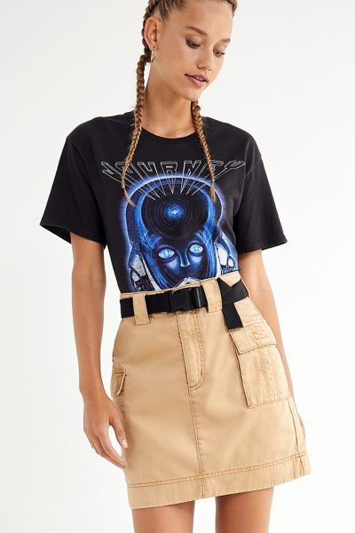 UO Mona Military Belted Skirt