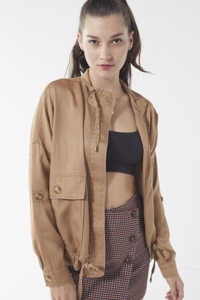 UO Pepita Drawstring Jacket