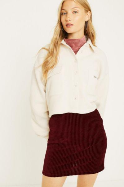 UO Stretch Corduroy Mini Skirt